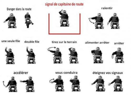 Signaux motards